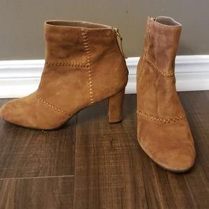 Brown Suede Dress booties